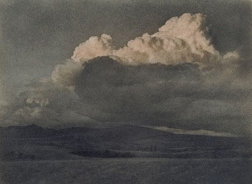 An image of Approaching dusk (Landscape Tarana) by W.H. Moffitt