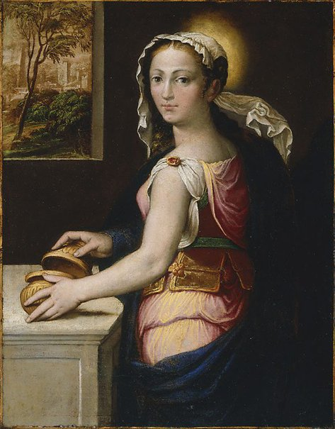 An image of Mary Magdalene by Bernardino Campi