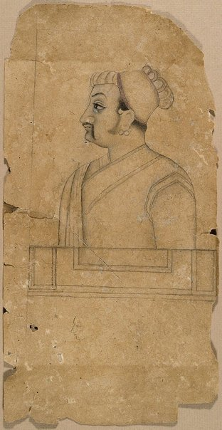 An image of Drawing of a nobleman by