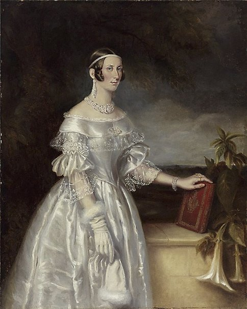 An image of Portrait of Mrs Alexander Spark by Maurice Felton