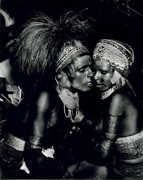 An image of Natives, Kanana ceremony, New Guinea by Laurence Le Guay