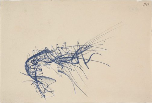 An image of (Abstract study of a lobster) by William Dobell