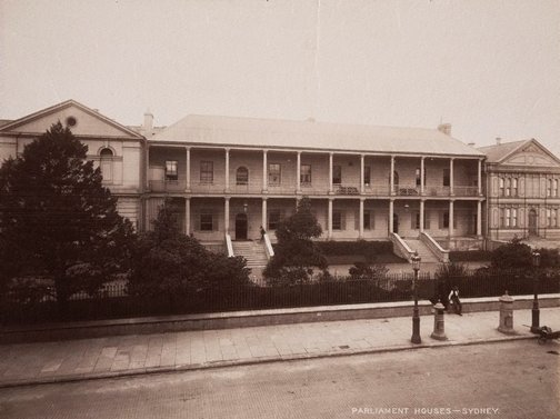 An image of Parliament House Sydney by Unknown, NSW Government Printer
