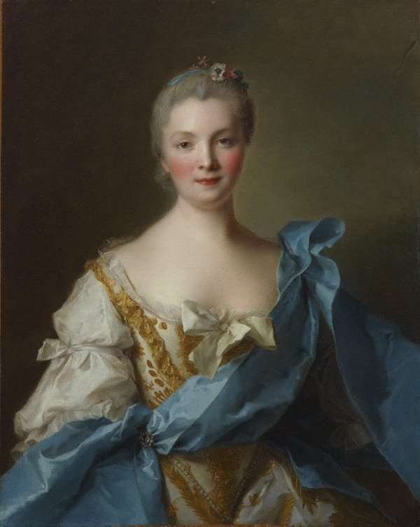An image of Madame de La Porte