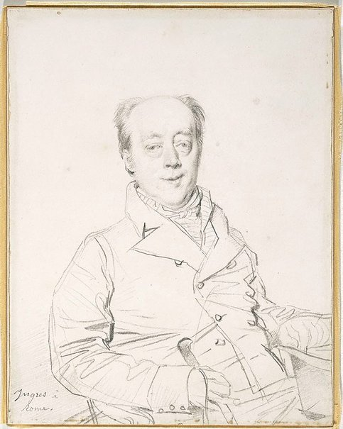 An image of The Hon. Frederick North by Jean-Auguste-Dominique Ingres