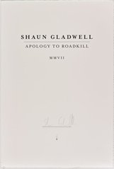 An image of Apology to roadkill MMVII by Shaun Gladwell