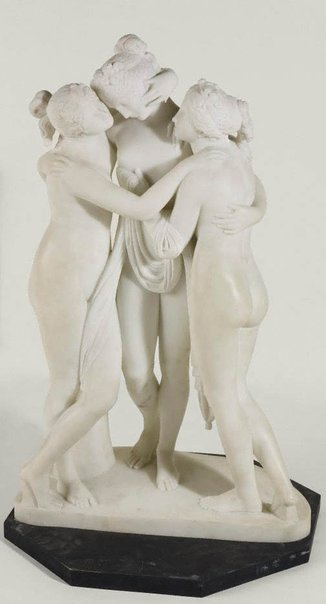 An image of The three graces by Unknown, after Antonio Canova