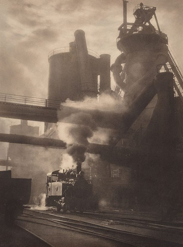 An image of Steam and sunshine, Newcastle BHP