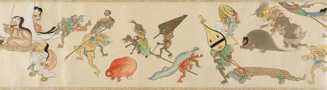 An image of Night procession of one hundred goblins
