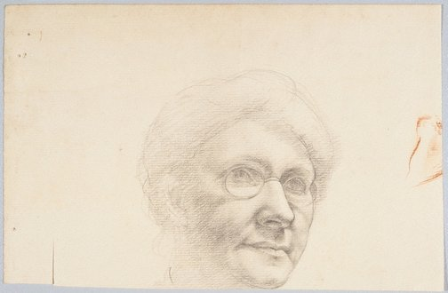 An image of (Head of a woman) by Douglas Watson