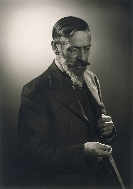 An image of Max Meldrum by Max Dupain