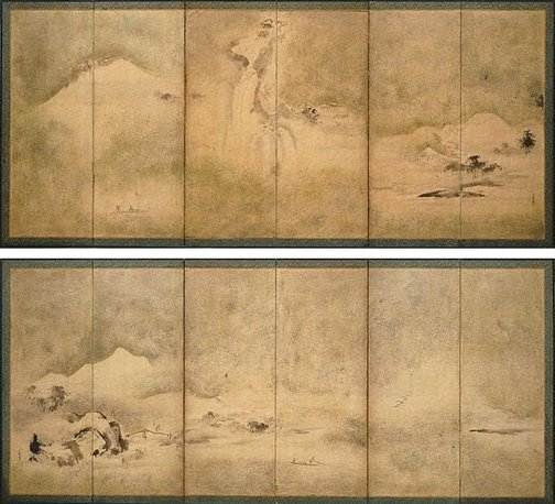 An image of Landscape by Kanô MOTOAKI