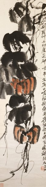 An image of Pumpkins by QI Baishi
