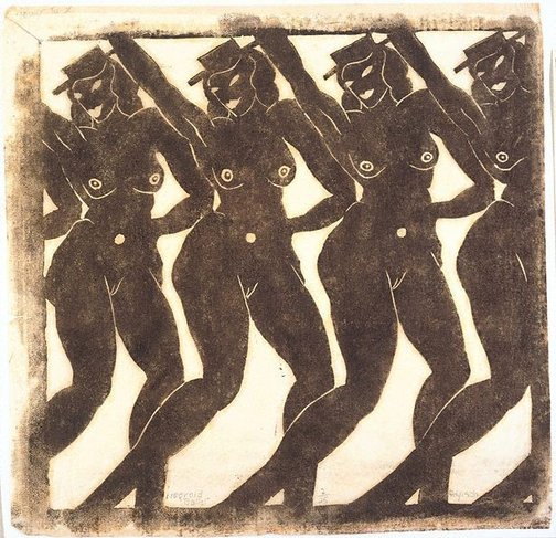 An image of Negroid ballet by Alison Rehfisch
