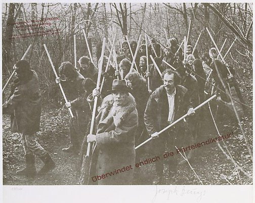 An image of Save the woods by Joseph Beuys