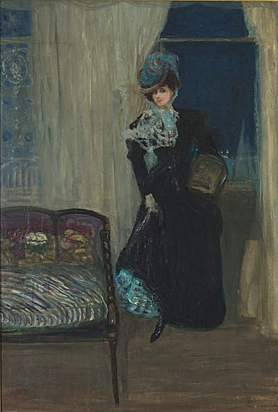 An image of Madame Errazuriz by Charles Conder