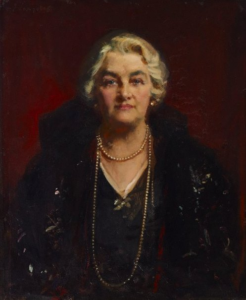 An image of Portrait of Lydia Rolin by John Longstaff