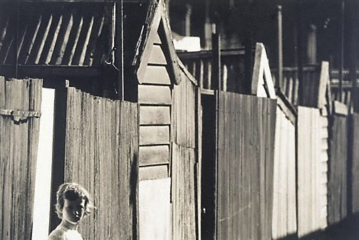 An image of Off Francis Street, Richmond Vic. 1961 by Mark Strizic