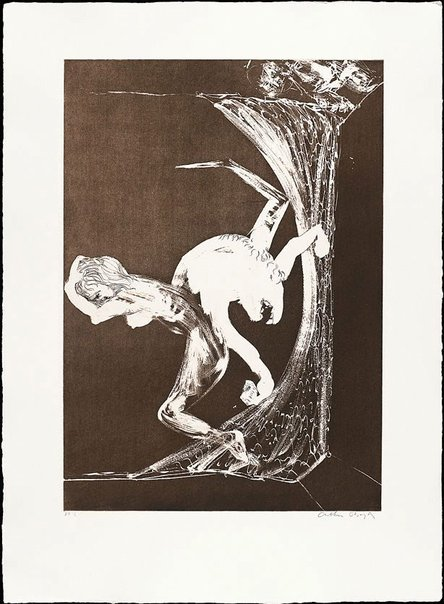 An image of (Illustration for Peter Porter's poem 'Epilogue') by Arthur Boyd