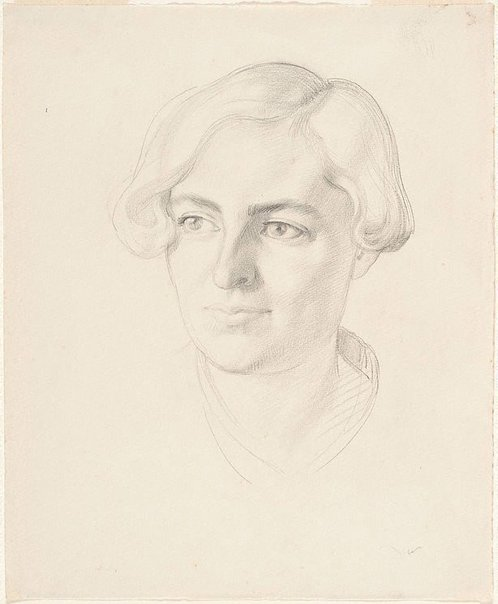 An image of Kit Laybourne-Smith by Nora Heysen
