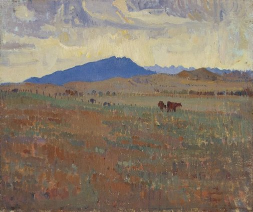 An image of Hawker, Flinders Ranges by Horace Trenerry