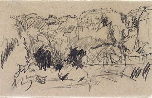 An image of (Landscape) by Pierre Bonnard