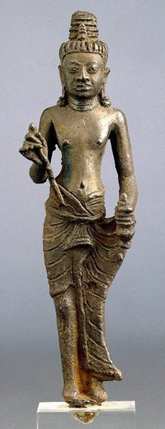 An image of Figure of Maitreya by