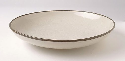 An image of Dish with peony design by Ding ware