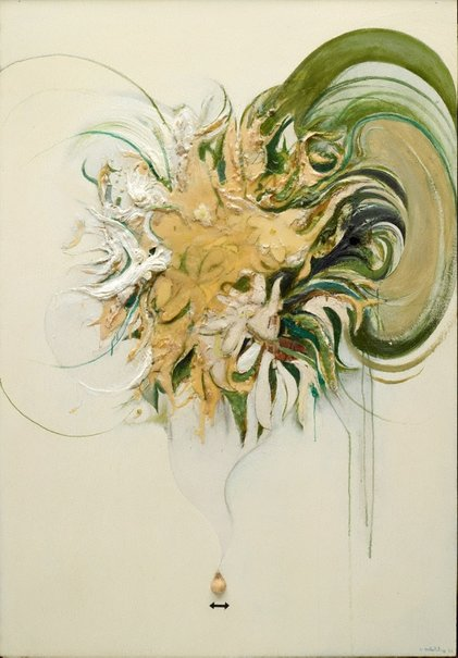 An image of Listening to nature by Brett Whiteley