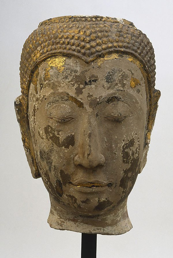 An image of Head of Buddha