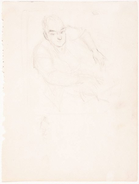 An image of Study for 'Portrait of Brian Penton' by William Dobell