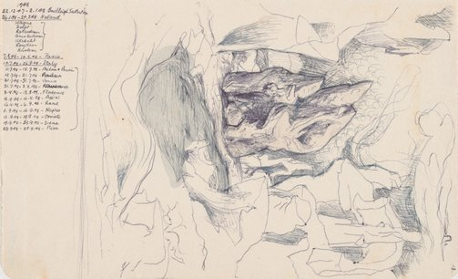 An image of (Rock studies) by James Gleeson