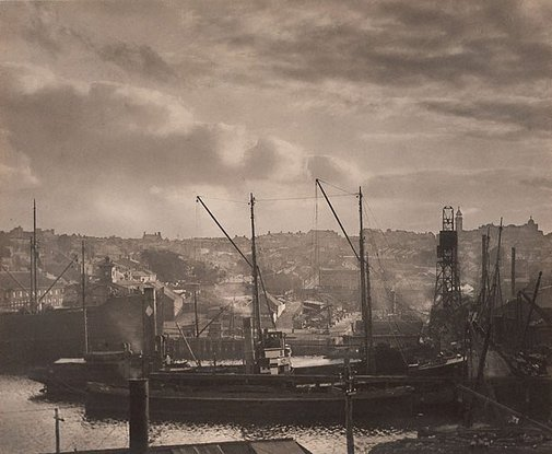 An image of Mort's Dock, Balmain by Harold Cazneaux