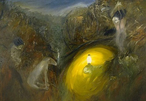 An image of Lysistrata II by Arthur Boyd