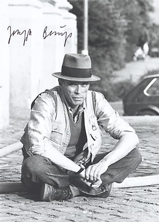 An image of Output 18 by Joseph Beuys