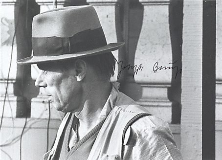 An image of Output 7 by Joseph Beuys