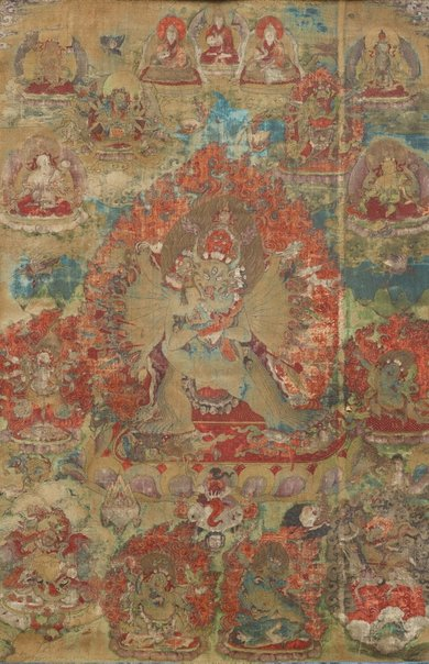An image of Yamantaka Vajrabhairava by