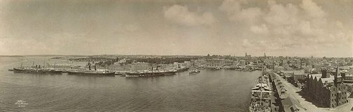 An image of Untitled (view of Circular Quay, Sydney) by Melvin Vaniman