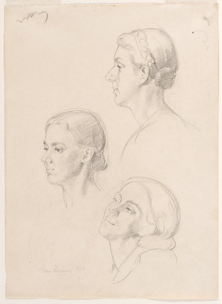 An image of My three sisters by Nora Heysen