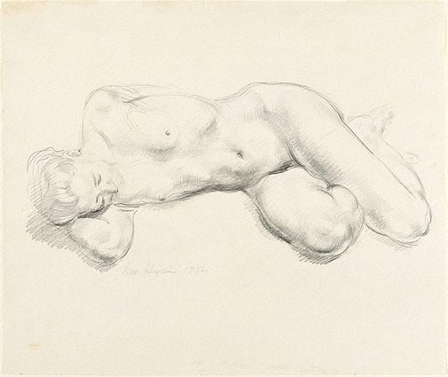 An image of Nude by Nora Heysen