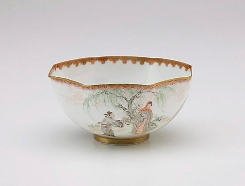 An image of Octagonal bowl by