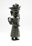 Alternate image of Figure holding bowl (God 'Dewi Sri', God of Rice) by
