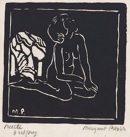 An image of Nude 2 by Margaret Preston
