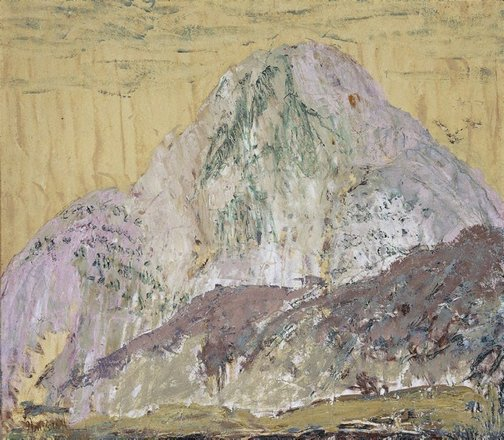 An image of Chinese mountain by Ian Fairweather