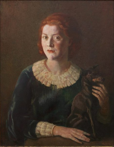 An image of Portrait of Miss Suzanne Crookston by Arthur Murch