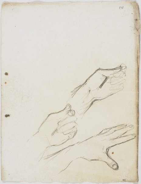 An image of Hands by Lloyd Rees