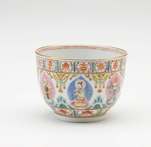 An image of Porcelain cup by