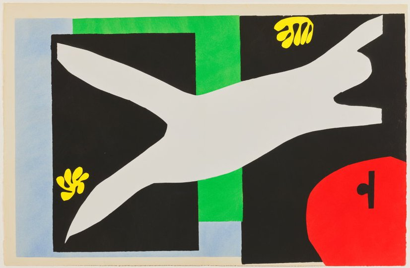 AGNSW collection Henri Matisse The swimmer in the tank (1947) 151.2014.12