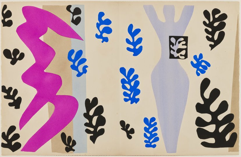 AGNSW collection Henri Matisse The knife thrower (1947) 151.2014.15