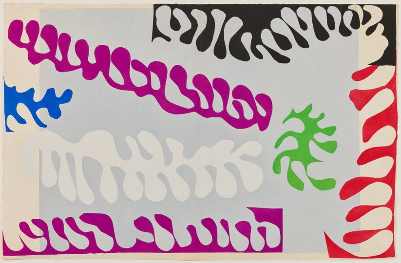 AGNSW collection Henri Matisse The lagoon (1947) 151.2014.17